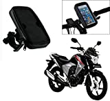 Auto Pearl -Waterproof Motorcycle Bikes Bicycle Handlebar Mount Holder Case(Upto 5.5 inches) For Cell Phone - Honda Unicorn Dazzler