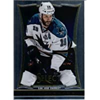 2013 14 Panini Select Hockey Card # 53 Joe Thornton San Jose Sharks