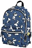 Peanuts Snoopy Backpack Blue