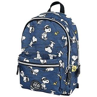 51JvQTlaNUL. SS324  - Peanuts Snoopy Mochila Azul