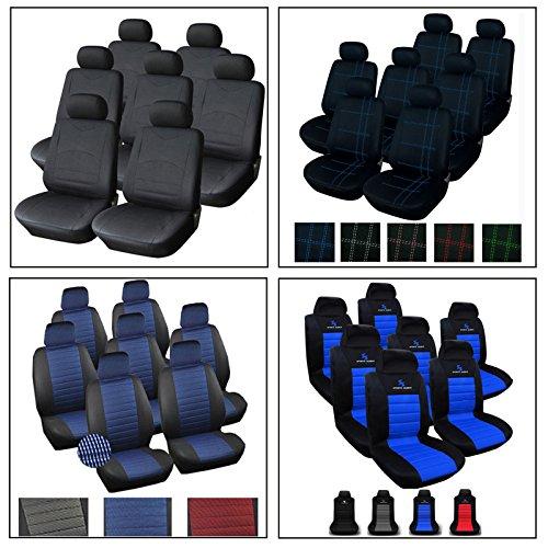 Woltu 7233-2-a Auto Sitzbezug Sitzbezüge VAN Schonbezüge Universal einzelsitzbezug Vordere Sitzbezug Rot 2 Stücke