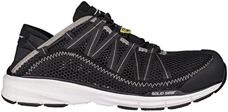 Solid Gear sg8011044 Cloud – Zapatos de seguridad S1 talla 44 NEGRO/BLANCO
