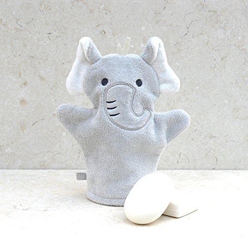 BATHING Bunnies Elefant Baumwolle Badehandschuh