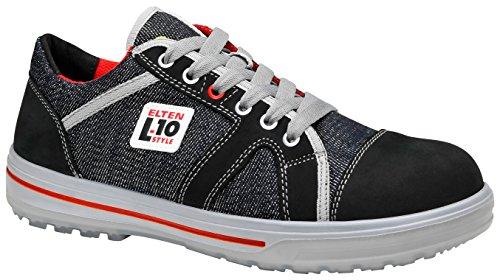 ELTEN Sicherheitsschuhe SENSATION UP Low ESD S3, Herren, sportlich, Sneaker, leicht, dunkelblau, Stahlkappe - Größe 41 -
