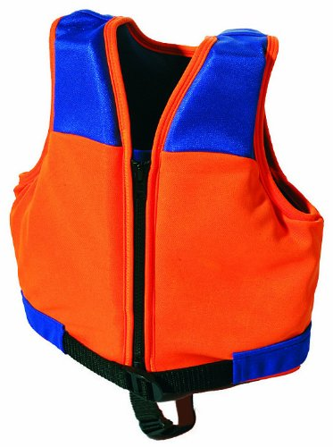SIMA by Fashy Kinder Schwimmweste, orange-blau, M