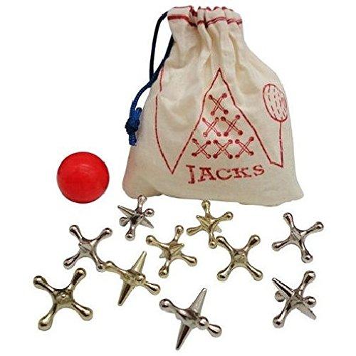 Traditional Metal Jacks Game