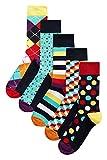 next Herren Socken Mit Geometrischen Motiven, 5Er-Pack Leuchtend EU 39-42.5