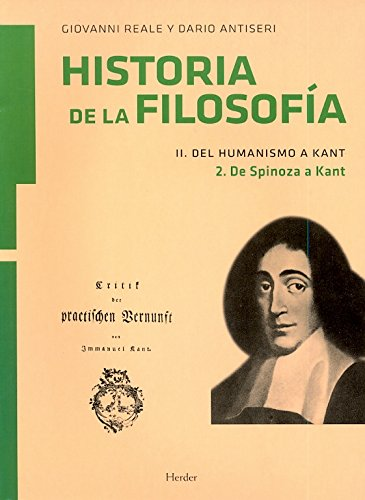 Historia de la filosofía II. Del Humanismo a Kant: de Spinoza a Kant: 4