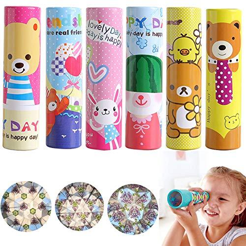 SWZY Kaleidoskop - Kaleidoskop Himmelstürmer,Polygonales Spiegelspielzeug Lernspielzeug Kinder Educational Dekompressionsspielzeug,5 Stück -