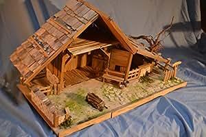 krippenbausatz hochalm bausatz krippenbau krippe selber bauen spielzeug. Black Bedroom Furniture Sets. Home Design Ideas