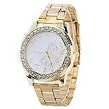 IG-Invictus Luxus Diamant Edelstahl Sport Quarz Armbanduhr Stundenzifferblatt Uhr GD KANIMA Digital Gebohrt Stahlband Uhr Gold