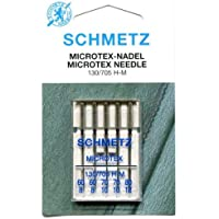 Schmetz MICROTEX Needle Range (Packs of 5) - Various Sizes (Mixed Pack Size 60 - 80 (8 - 12)) by Schmetz