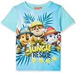 Nickelodeon Jungen T-Shirt Paw Patrol Chase, Türkis (Turquoiz 14-4816 TC), 5 Jahre