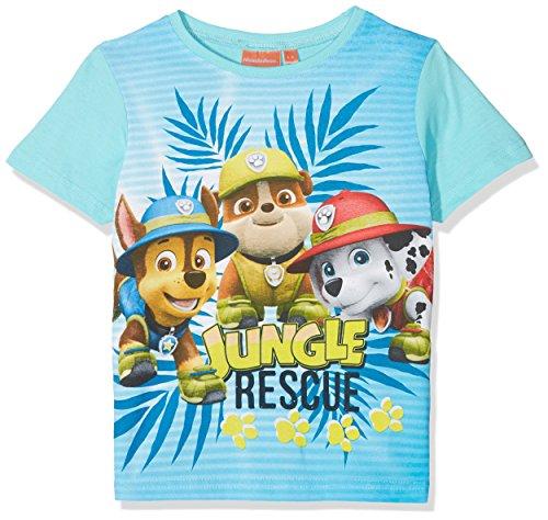 Paw patrol er1393, t-shirt bambino, turchese, taglia produttore:4 anni