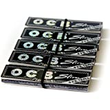 5 booklets OCB PREMIUM SLIM Zigarettenpapier King Size + FILTER TIPS
