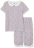 Petit Bateau Bretagne Ensemble De Pyjama, Multicolore (Marshmallow/Multico 01), 152 (Taille Fabricant: 12 Ans) Fille