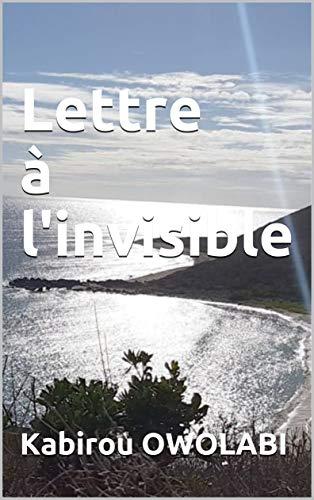 Couverture du livre Lettre à l'invisible (LKC t. 1)