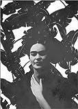 Posterlounge Leinwandbild 70 x 100 cm: Frida schwarz-weiß von Mandy Reinmuth - fertiges Wandbild, Bild auf Keilrahmen, Fertigbild auf Echter Leinwand, Leinwanddruck