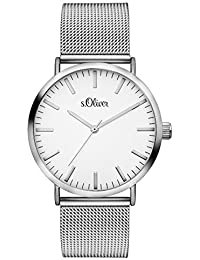 s.Oliver Damen-Armbanduhr Analog Quarz SO-3145-MQ