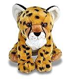 Wild Republic Plüsch Gepard, Cuddlekins Kuscheltier, Plüschtier, 30cm