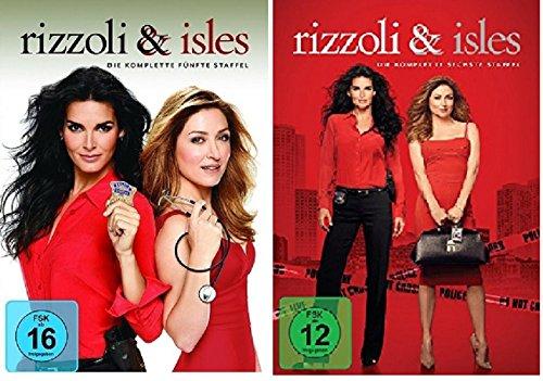 Preisvergleich Produktbild Rizzoli & Isles - Season / Staffel 5+6 * DVD Set