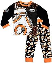 Star Wars - Pigiama a maniche lunga per ragazzi BB8