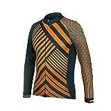 Uglyfrog Bike Wear Herren Fahrradbekleidung Set Langarm-Warm Trikots & Shirts or Lang Herbst Radjacke und Fahrradhosen