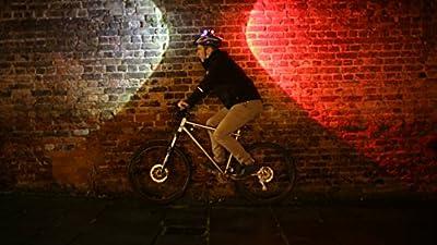 Topside. Bright 100 Lumen Bike Helmet Light. Rechargeable Dual Front & Rear Bike Light. 43 Hour Battery by Brightside Bike Lights