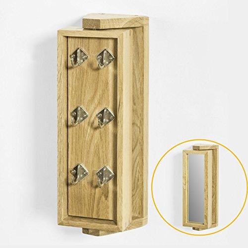 SoBuy® Armario para llaves con espejo, FRG103-N,ES