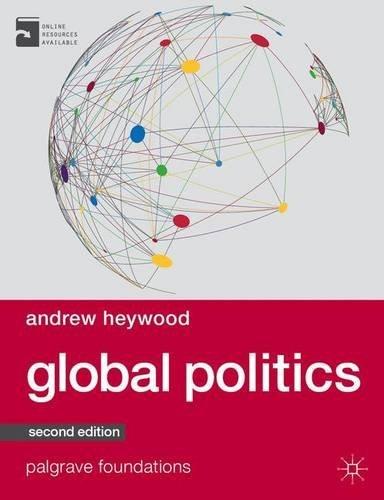 Portada del libro Global Politics (Palgrave Foundations Series) by Andrew Heywood (2014-03-21)