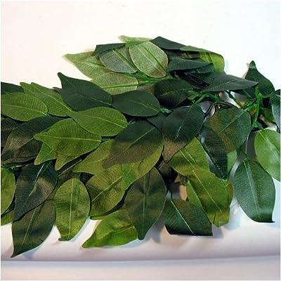 Reptile Vivarium Jungle Silk Plant Decor Ficus Medium by Reptipet