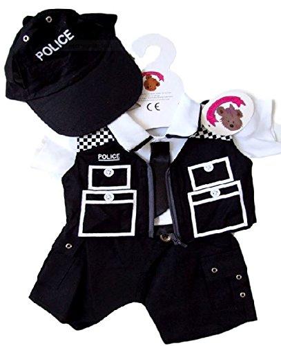Baue Dein Bears Kleiderschrank 15Zoll Kleider passen Bj Bär Police Officer Kostüm
