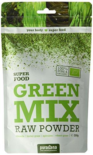 Purasana - Melange De Poudre Vert Green Mix Powder Bio-Be-02 - 200 G