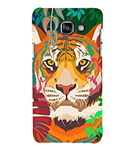 Lion 3D Hard Polycarbonate Designer Back Case Cover for Samsung Galaxy A3 (2016) :: Samsung Galaxy A3 2016 Duos :: Samsung Galaxy A3 2016 A310F A310M A310Y :: Samsung Galaxy A3 A310 2016 Edition