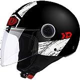 Best NEW Casques de moto - JET MALIBU PANZER BLACK MATT AIROH SIZE XS Review