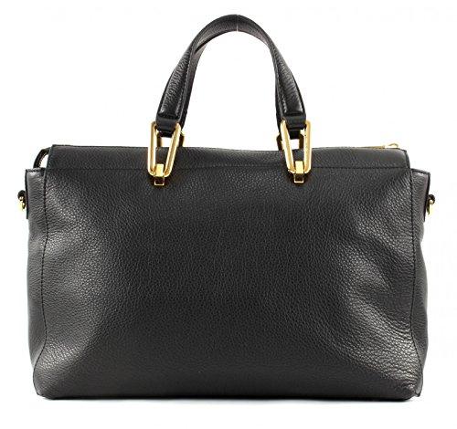 Coccinelle Ado Liya Handtasche Leder 32 cm noir noir