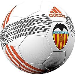 adidas Valencia Ball Balón de Fútbol, Unisex adulto, Blanco (Blanco / Narsol / Negro), 5