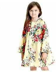Spring Big Raincoat Girls And Children Raincoats Poncho (2-10 ans)
