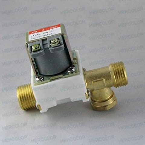 Electric Solenoid Valve for Water Air N/C 12V DC