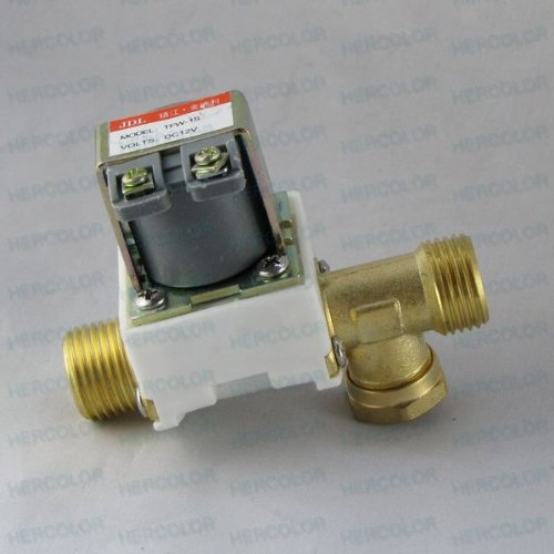 12v Luft (Elektromagnetventil für Wasser-Luft N / C 12V DC 1/2