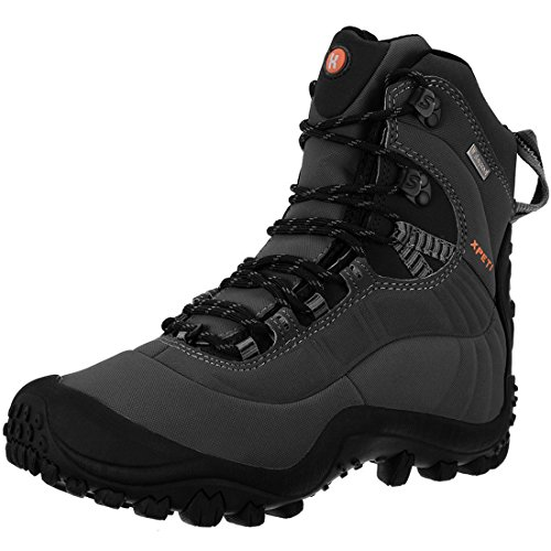Botas Trekking Hombre Impermeables,XPETI Zapatos de Senderismo Montañ