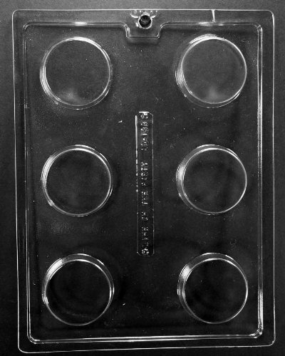 Plain Cookie Chocolate candy mold by Life of the party by CK Products