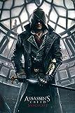 Assassins Creed - Syndicate - Games Maxi Poster Druck Poster - Größe 61x91,5 cm + 1 Ü-Poster der Grösse 61x91,5cm