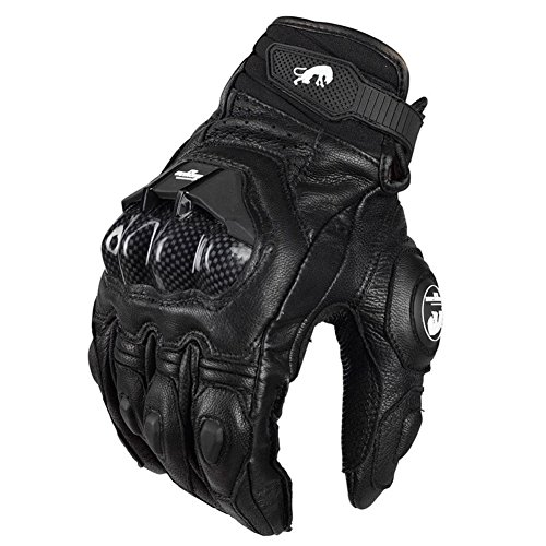 Klaue Monster Motocross Reiten Handschuhe Leder Cavalier/außen Motorrad Fahrrad Handschuhe , black , (Elsa Kostüm Bad)