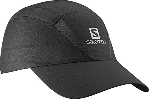 Cappellino unisex Salomon Mesh, impermeabile, cappuccio XA, taglia regolabile, S / M, nero, L38005500