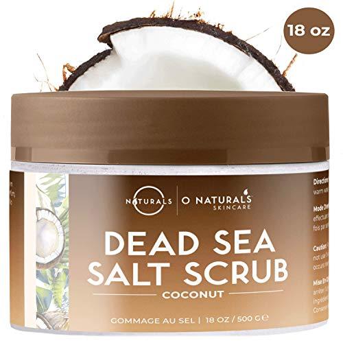 O Naturals Mascarilla Facial Aceite Coco Sal Mar Muerto