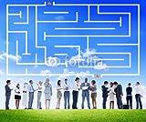 druck-shop24 Wunschmotiv: Business Collaboration Colleague Occupation Partnership Concept #77028940 - Bild auf Alu-Dibond - 3:2-60 x 40 cm/40 x 60 cm