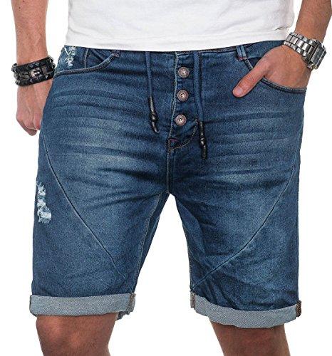 Sublevel -  Pantaloncini  - Uomo Blu blu