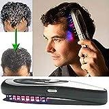 Symeas Regrowth Hair Brush Electric Hair Growth Comb Massage Comb Massager Peigne à cheveux Peigne de massage Equipement Cheveux Croissance Soins Traitement Traitement électrique Peigne de massage avec lumière infrarouge et thérapie par vibration
