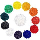eBoot 12 Couleurs Gel Eau Cristal Perles d'Eau Gel Sol en Gel Perle en Gel pour Décoration de ...